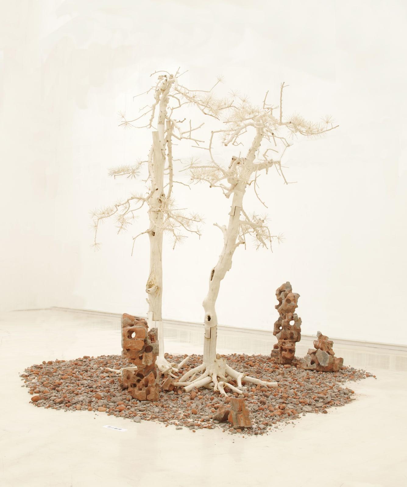 Shi Jinsong 史金淞, Pine Tree Garden 雙松園, 2012