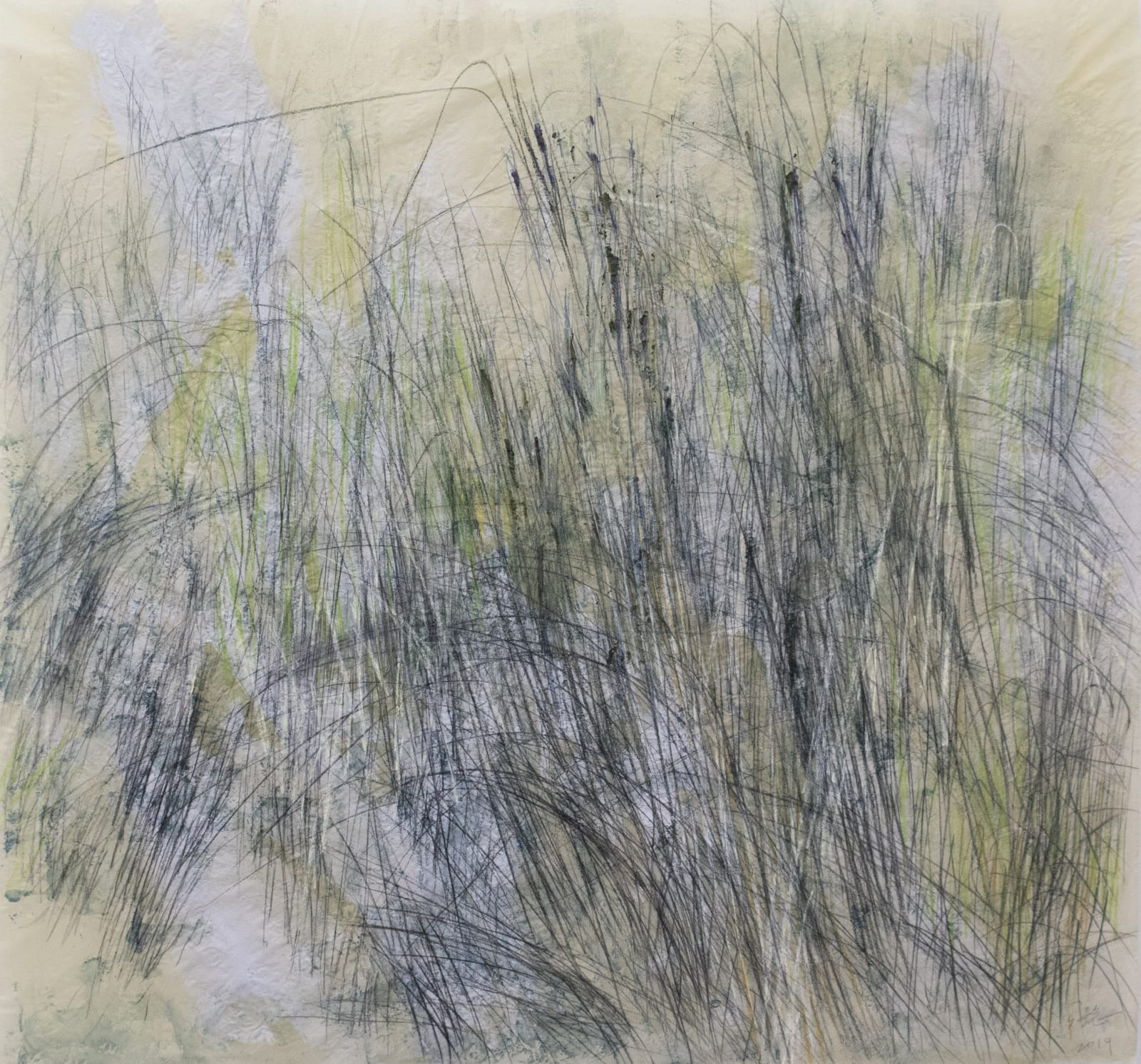 Wang Gongyi 王公懿, Leaves of Grass No.2 草葉集之二, 2019