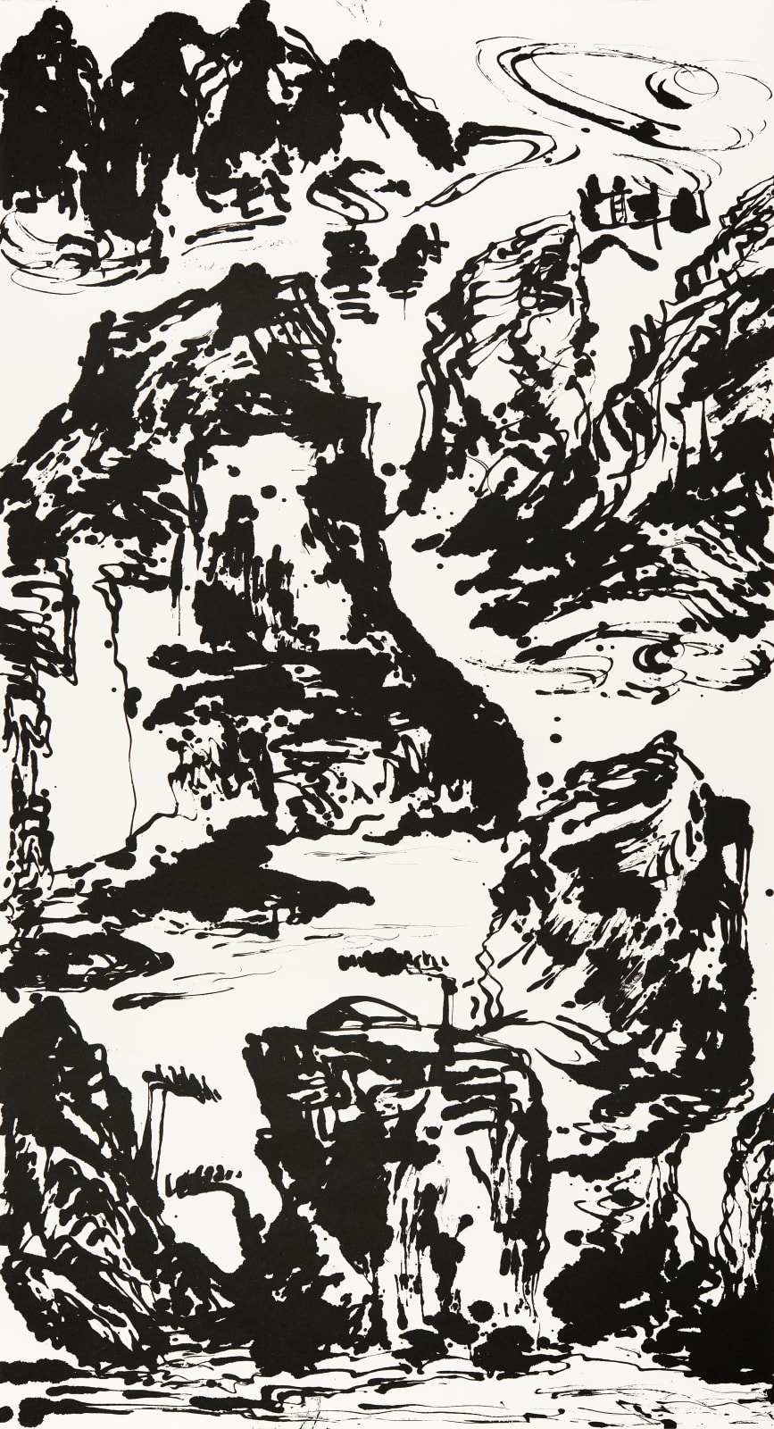 Wesley Tongson 唐家偉, Spiritual Mountains 靈山 No. 613, 2011