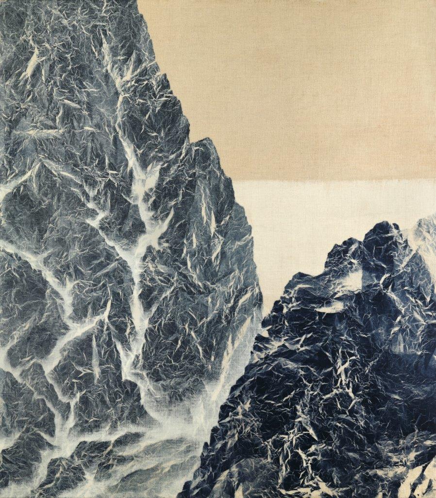 Wu Chi-Tsung 吳季璁, Cyano-Collage 053 氰山集之五十三, 2019