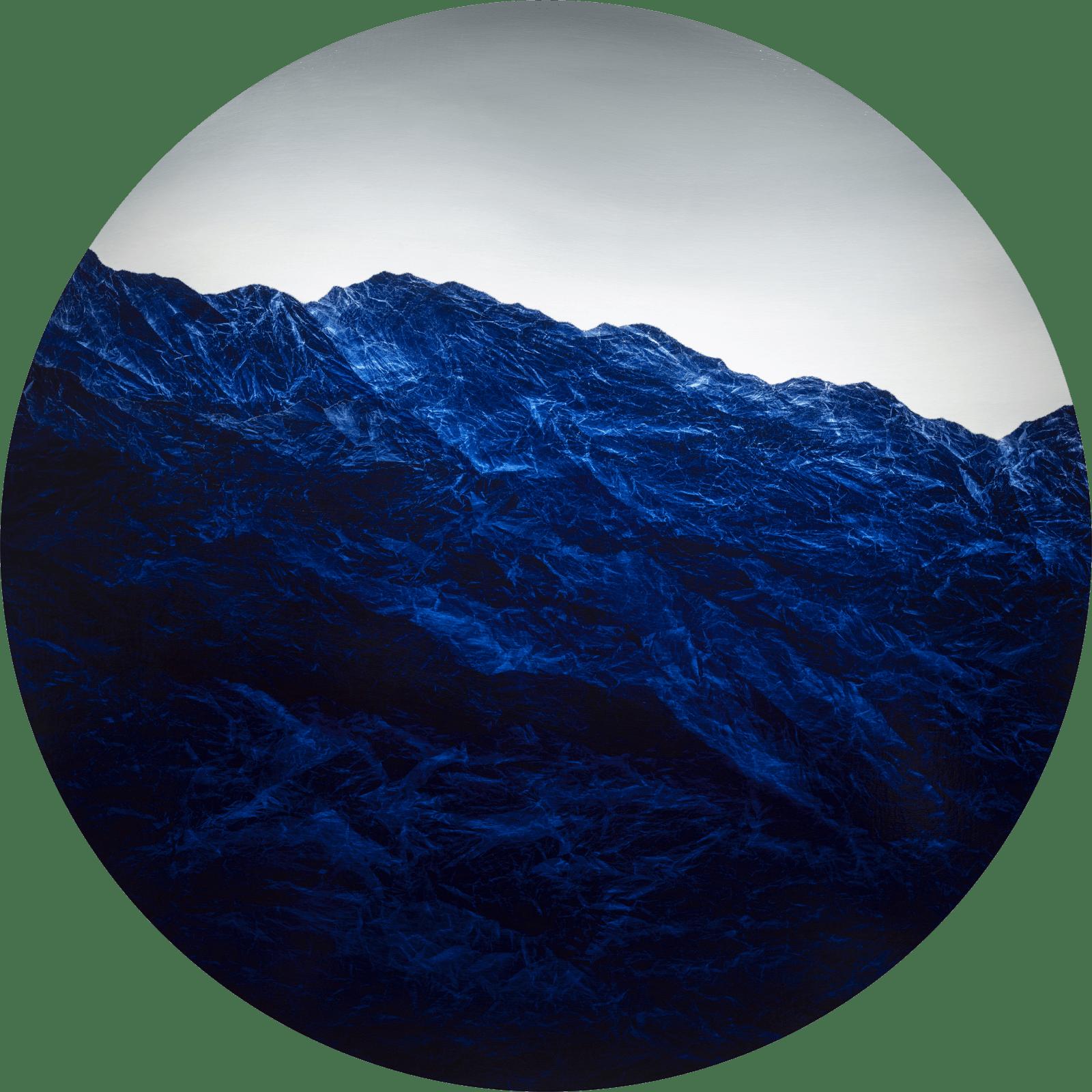 Wu Chi-Tsung 吳季璁, Cyano-Collage 077 氰山集之七十七, 2020