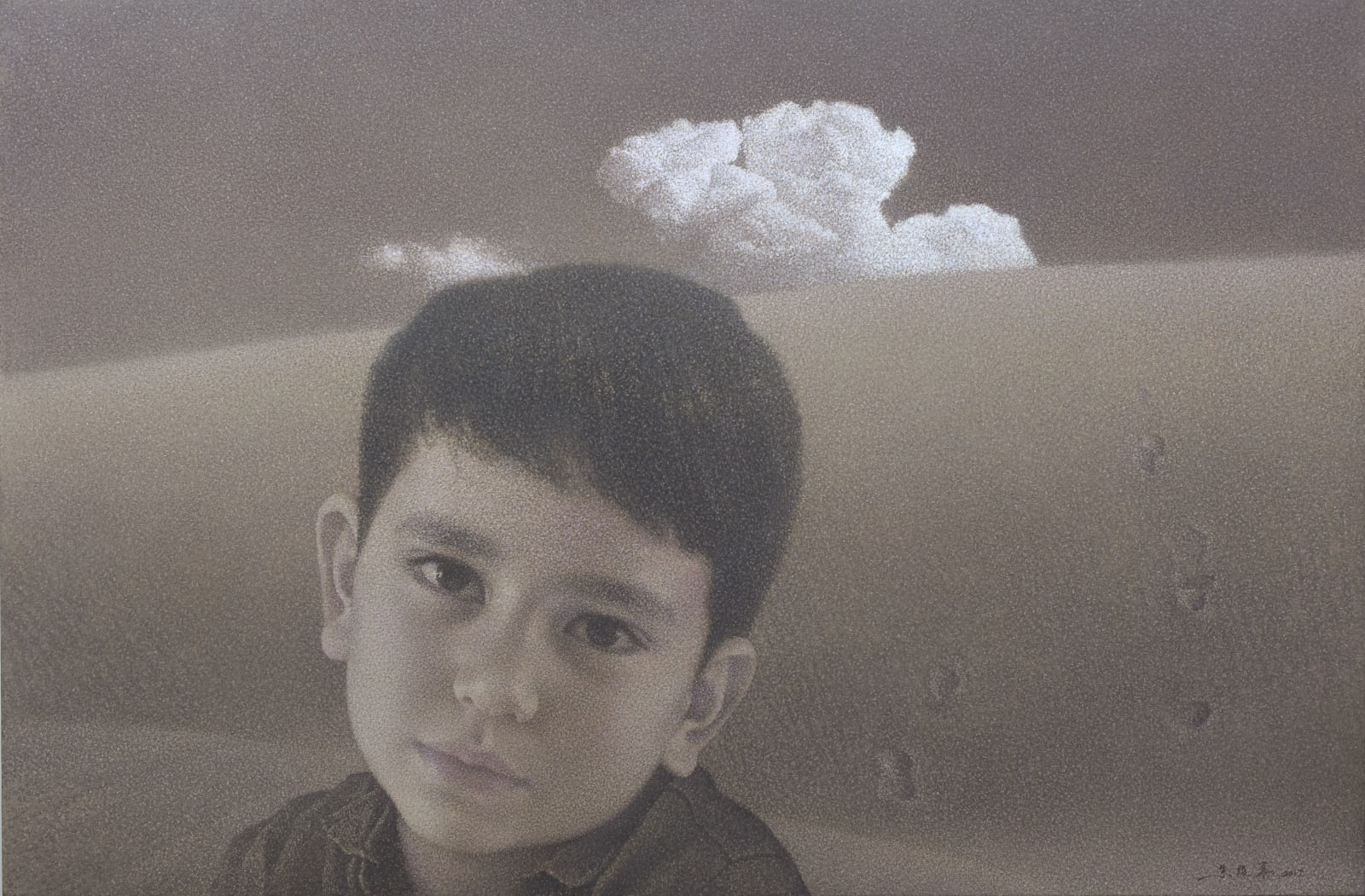 Zhu Yiyong 朱毅勇, The Realm of the Heart - Ryan 心境之Ryan , 2017