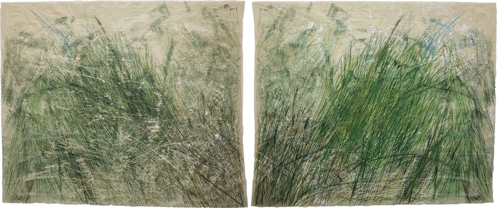 Wang Gongyi 王公懿, Leaves of Grass No.4 草葉集之四, 2019