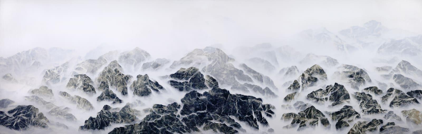 Wu Chi-Tsung 吳季璁, Cyano-Collage 029 氰山集之二十九, 2018