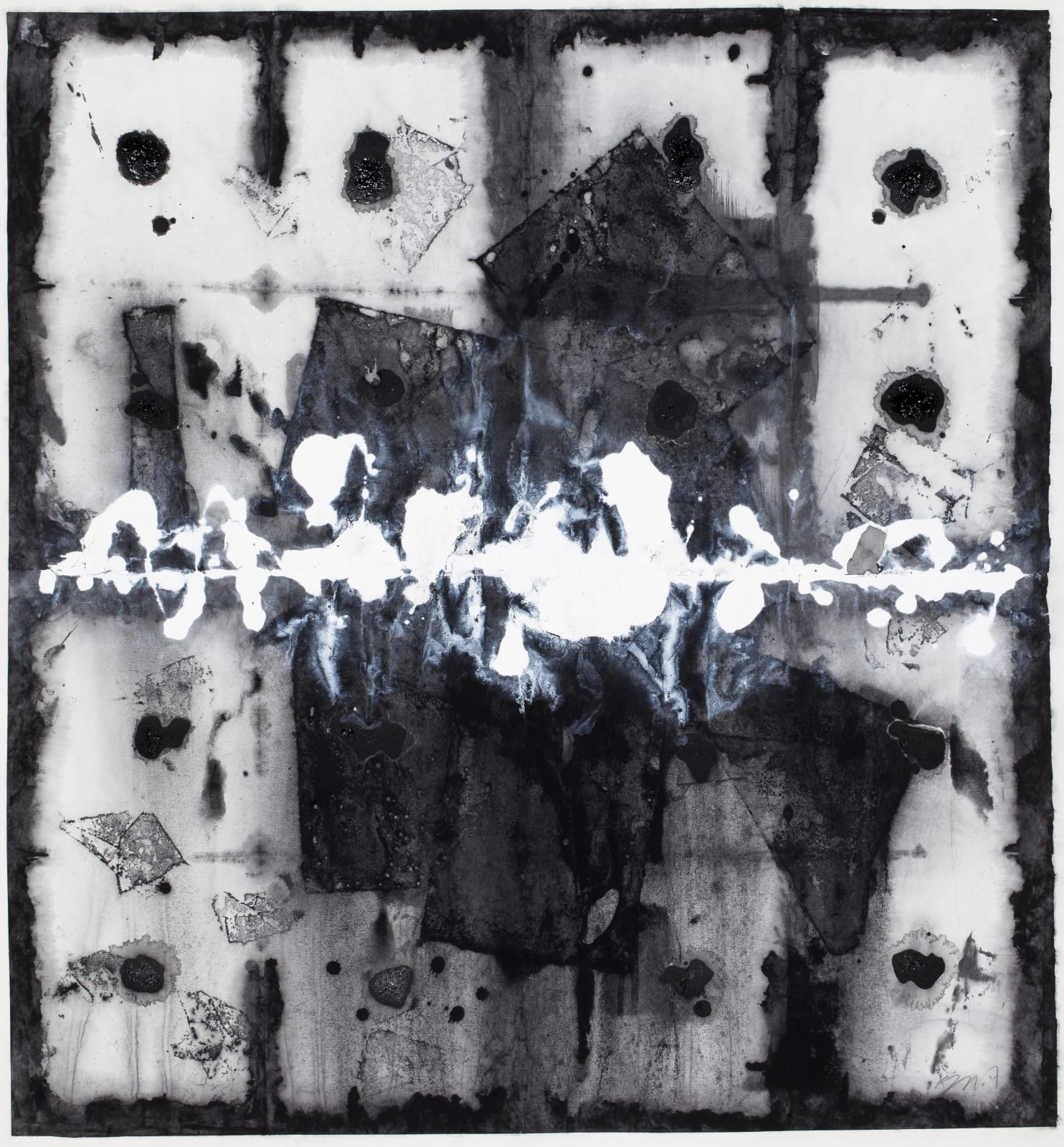 Li Gang 李綱, Elements of Ink and Wash 水墨元素 No.20120402, 2012