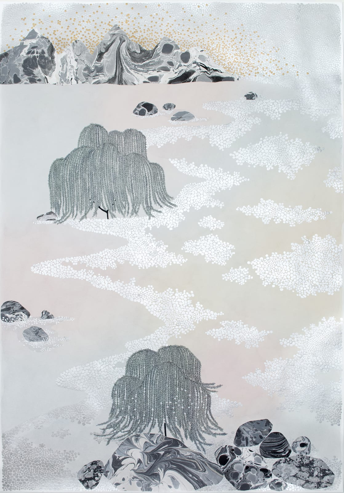 Crystal Liu, going places (weeping willows), lulled, 2018
