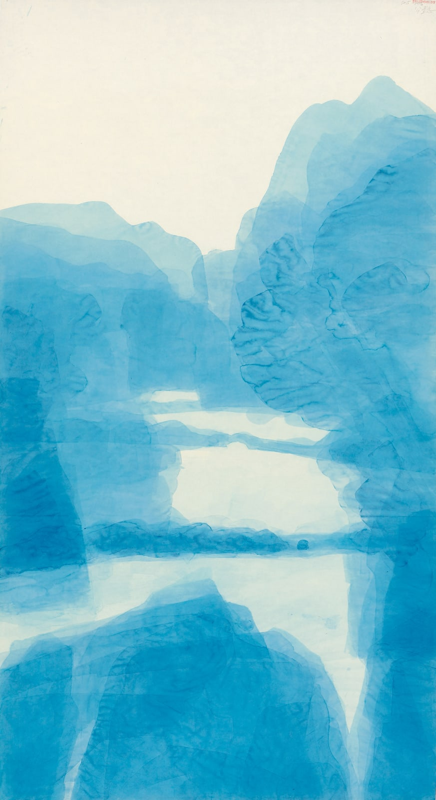 Wang Gongyi 王公懿, Winsor Blue - West Lake 温莎藍.西湖, 2015-2016