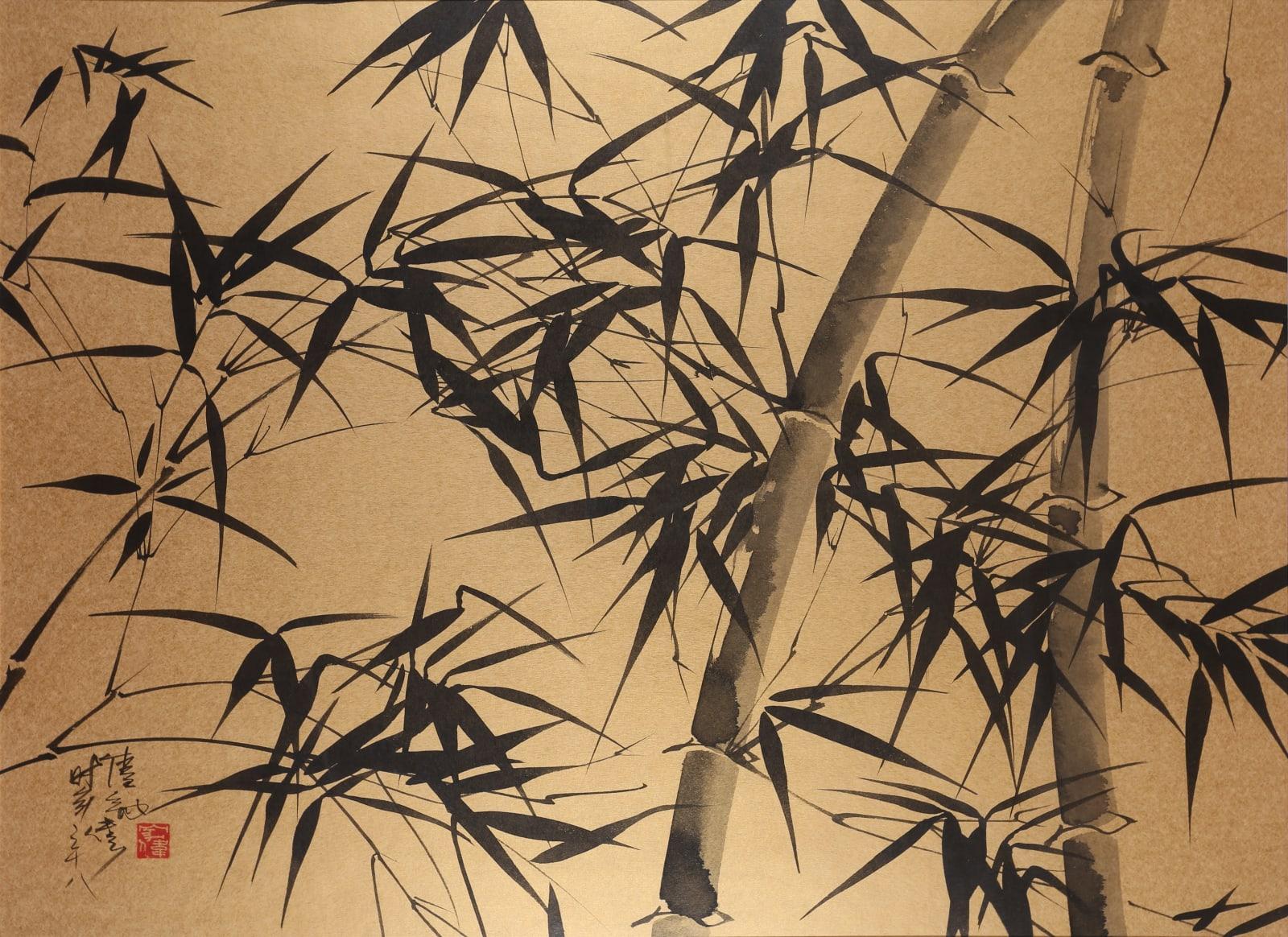 Wesley Tongson 唐家偉, Bamboo 竹 No. 59, 1995