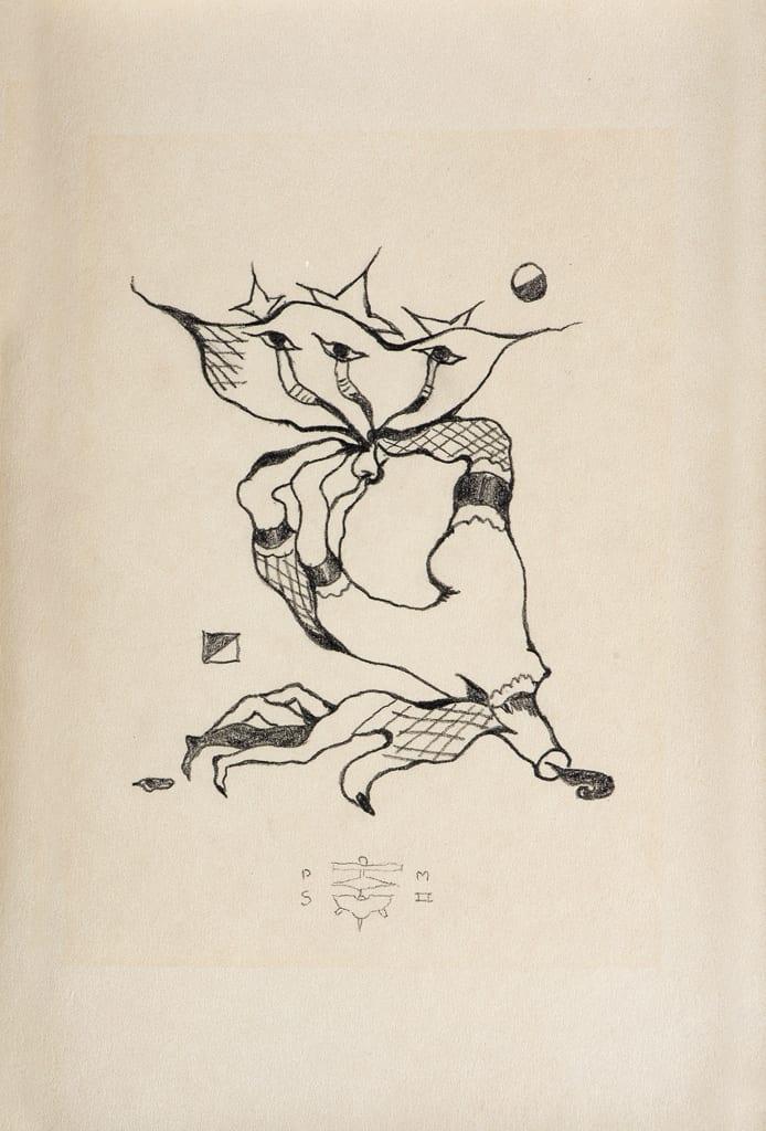 Pierre Molinier, Les seins étoilés n°1, circa 1958