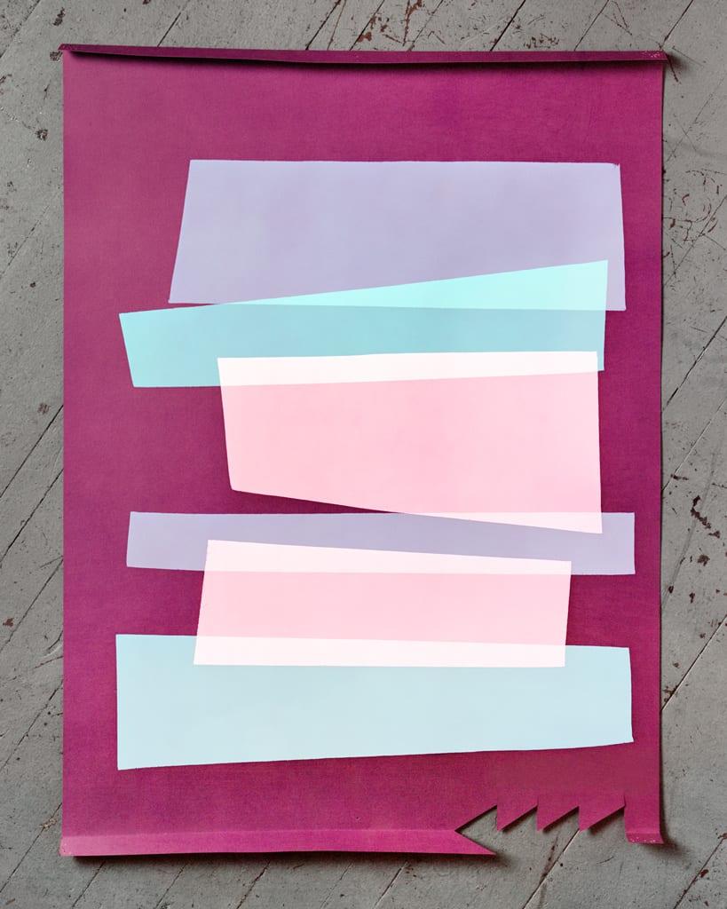 Hannah Whitaker, Purple Paper, 2014