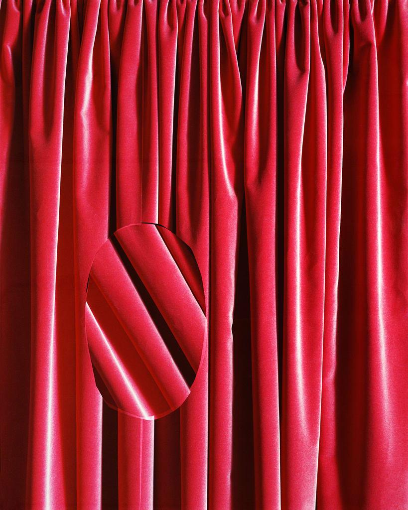 Hannah Whitaker, Curtain Glitch, 2015