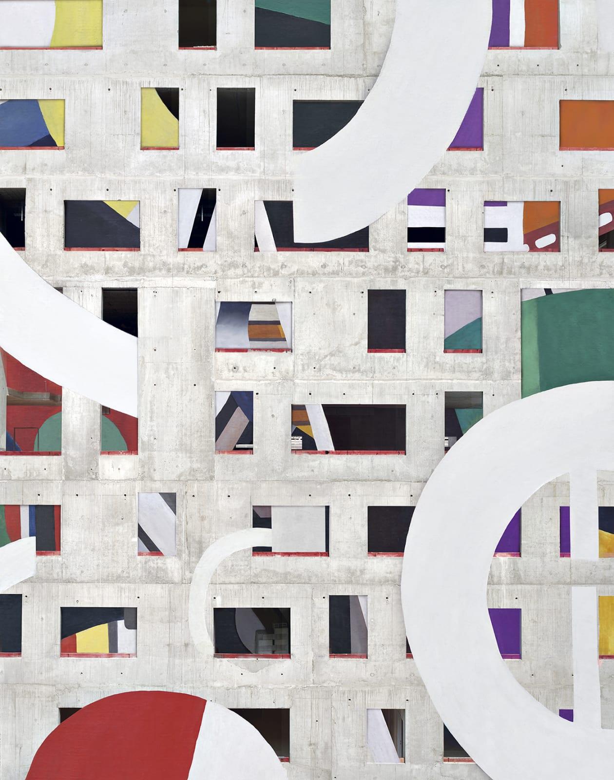 Stéphane Couturier, Série 'Les nouveaux Constructeurs' Paris Seine Rive Gauche n°1 , 2020
