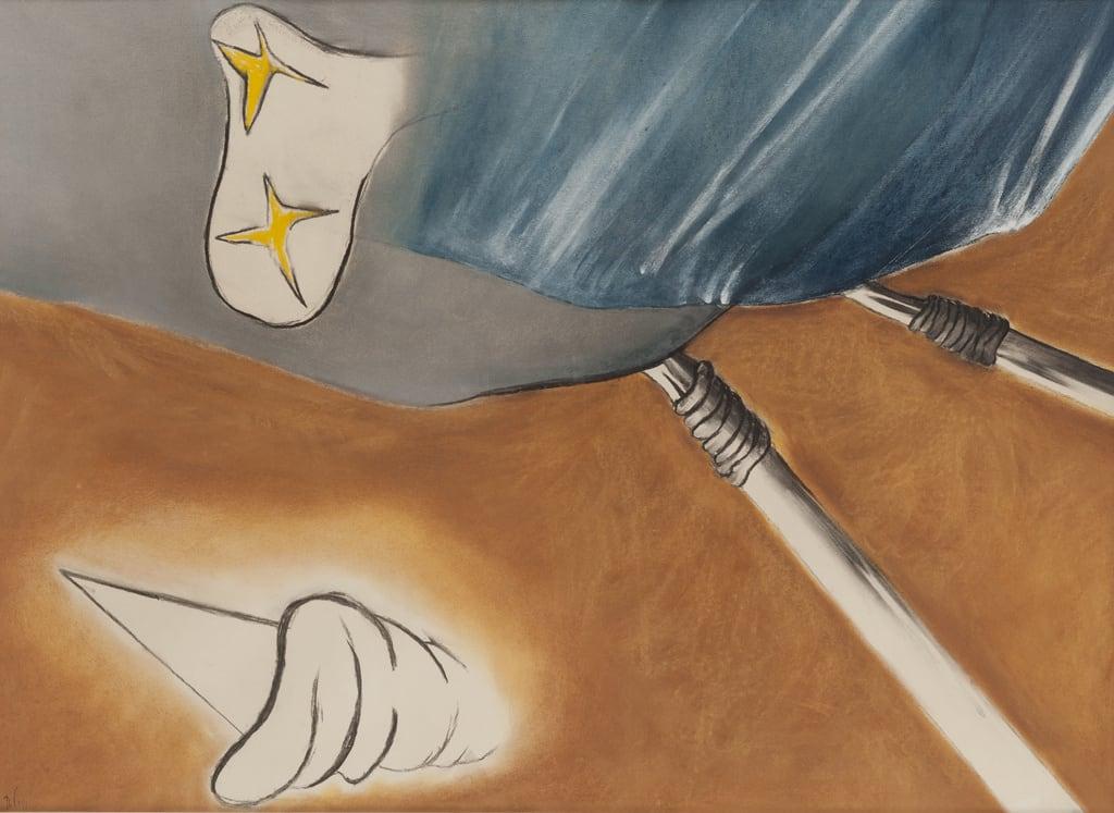 Daniel Pommereulle, La Fatigue du ciel, 1981