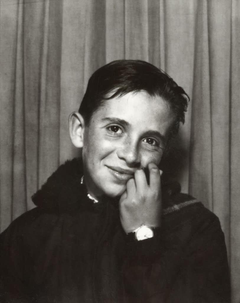Unglee, Autoportrait au photomaton, 1965