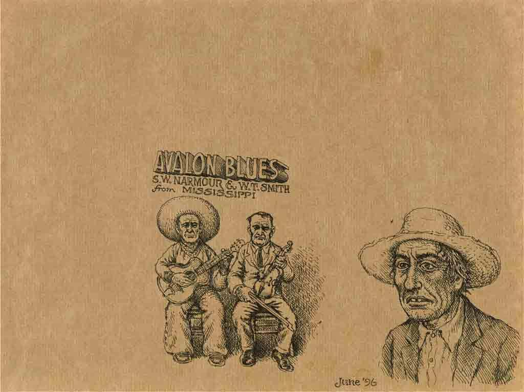 Robert Crumb, 'Avalon blues', 1996