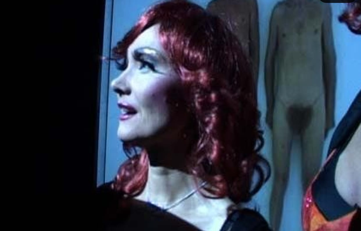 Katarzyna Kozyra, Appearance as Gloria Viagra's Clone at the Opening of the Exhibition, 2005