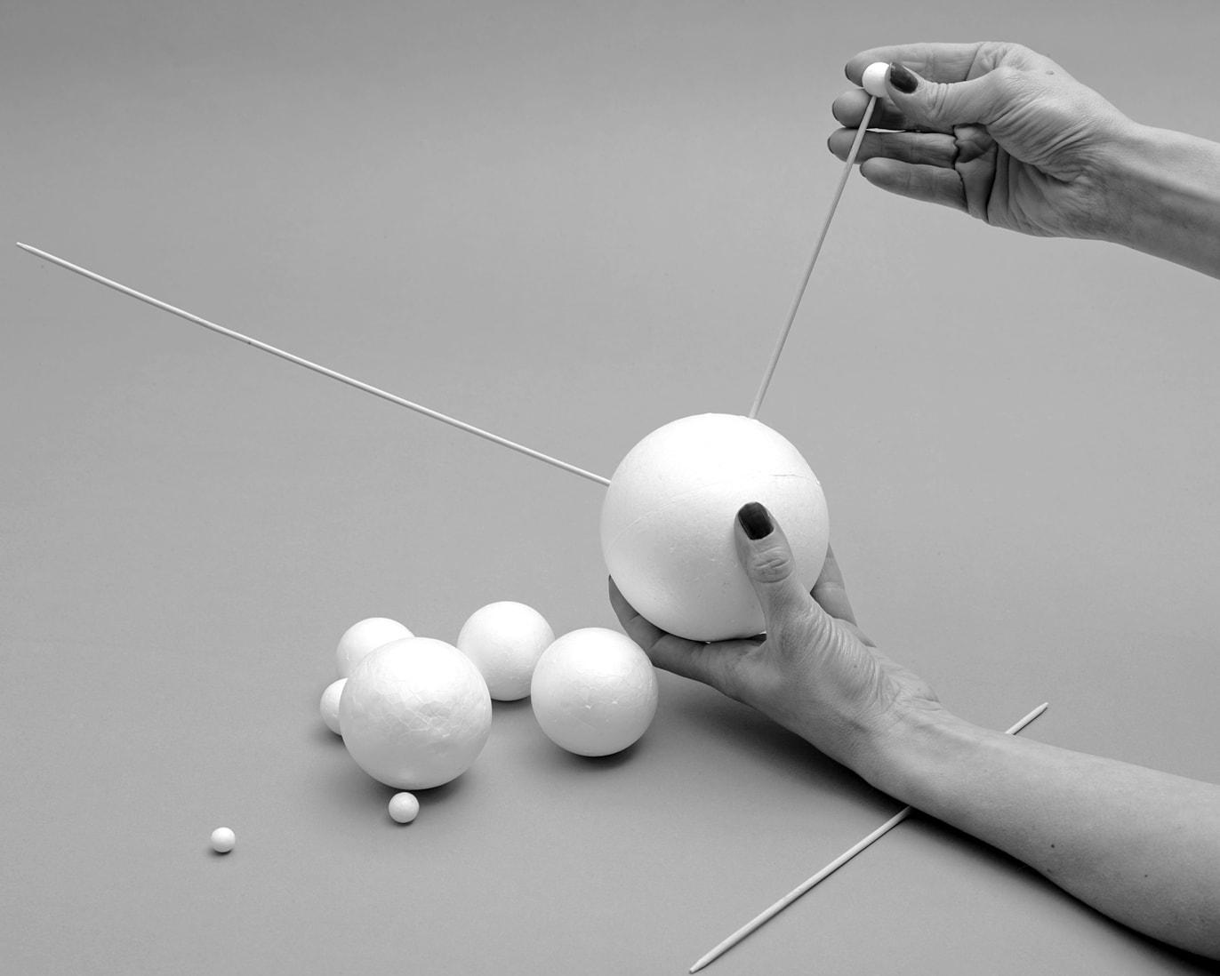 Marina Gadonneix, Untitled (Building a Solar System #1), 2014