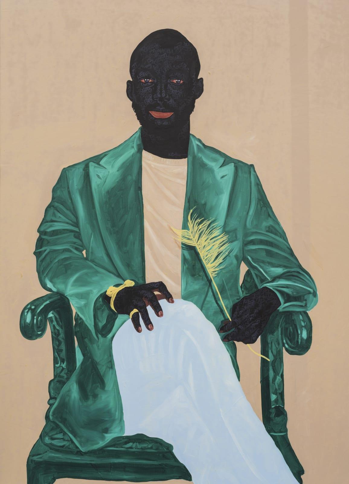 Kwesi Botchway, New King, 2020