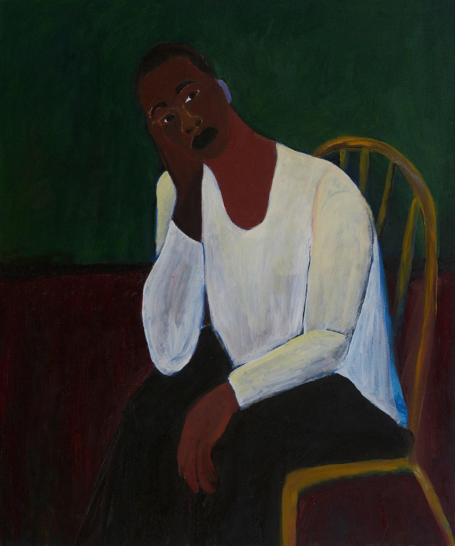 Patrick Eugène, Self Portrait, 2020