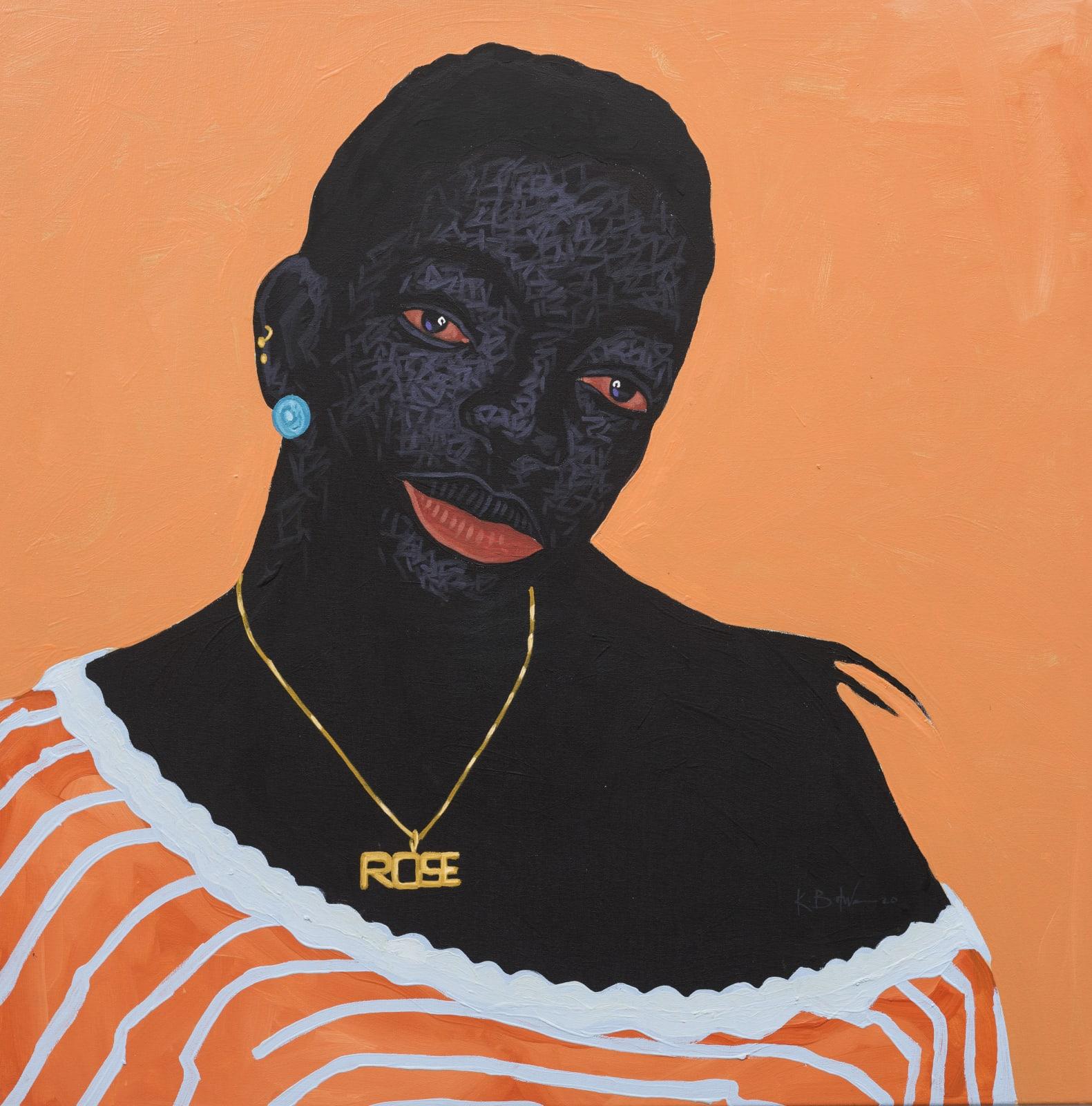 Kwesi Botchway, Rose, 2020