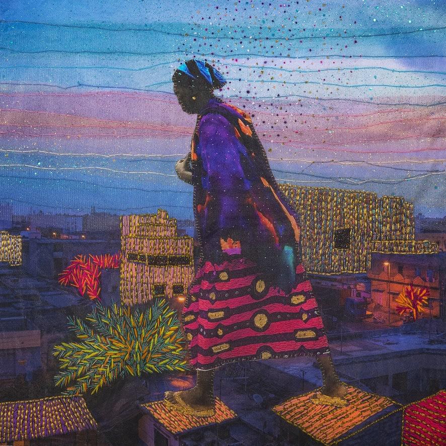 Joana Choumali, DETERMINATION, Series Alba'hian, 2020