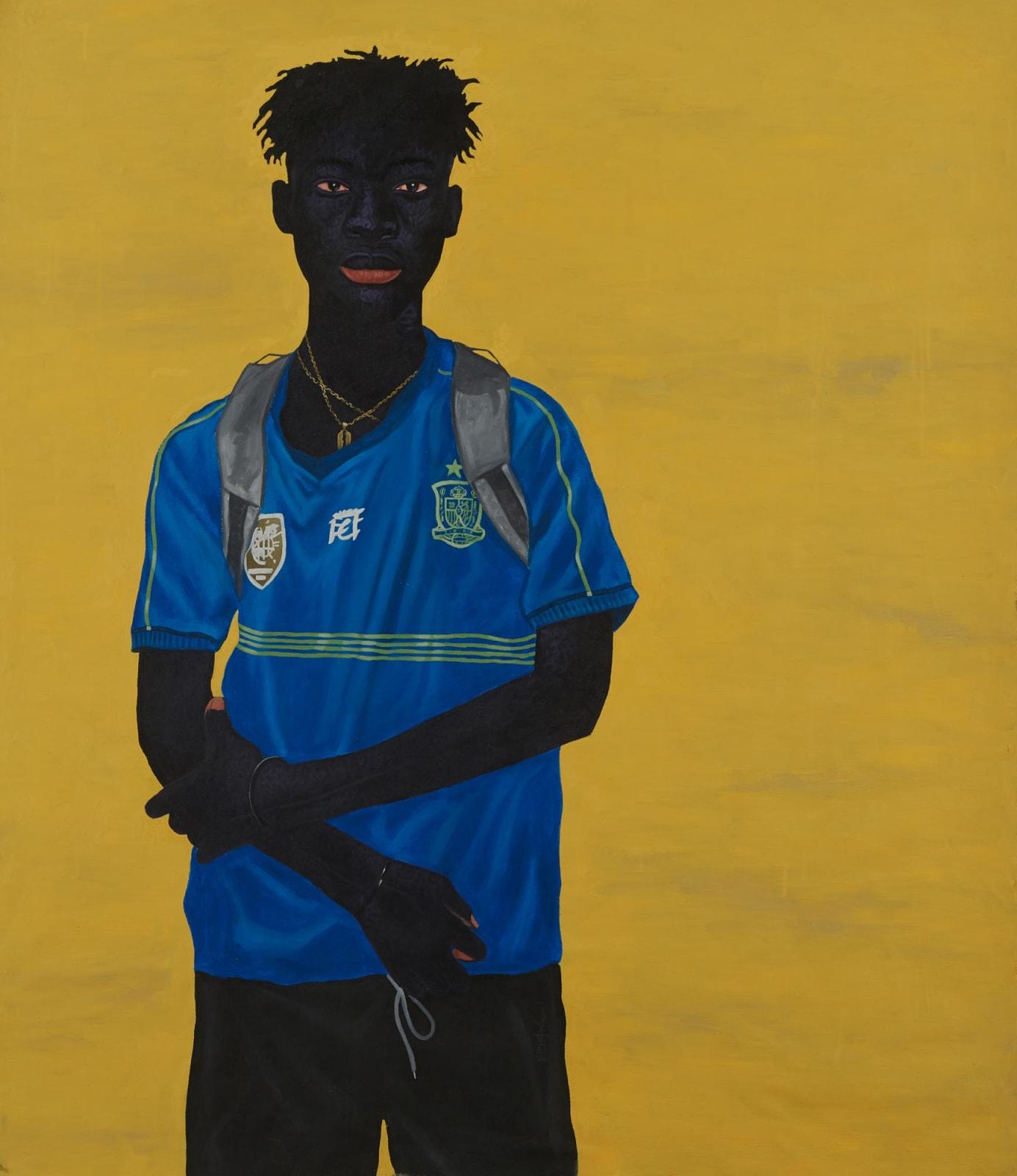 Kwesi Botchway, Razor Blade Necklace, 2020