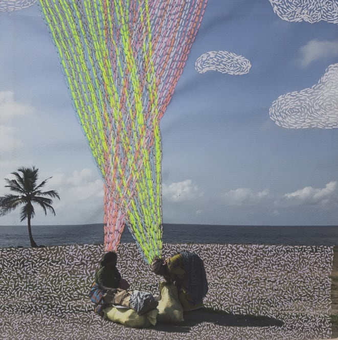 Joana Choumali, Untitled, Series ca va aller, 2018
