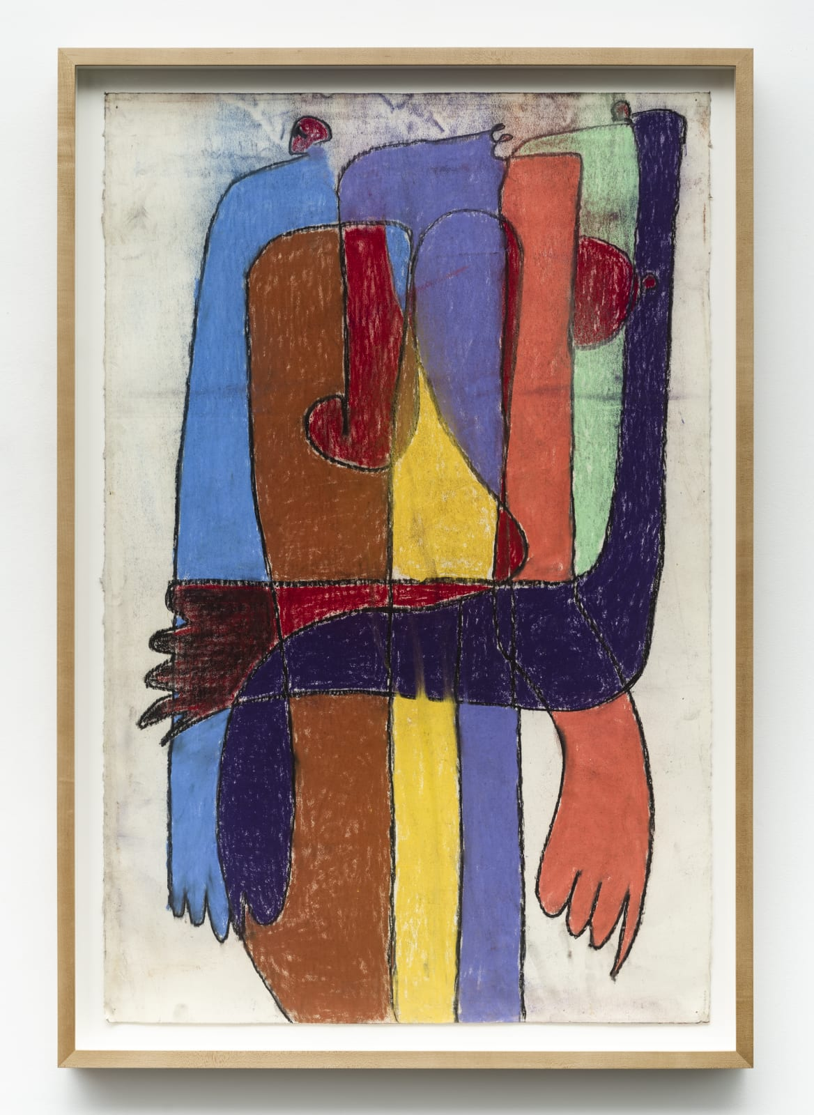 Serge Attukwei Clottey, Hug someone, 2018