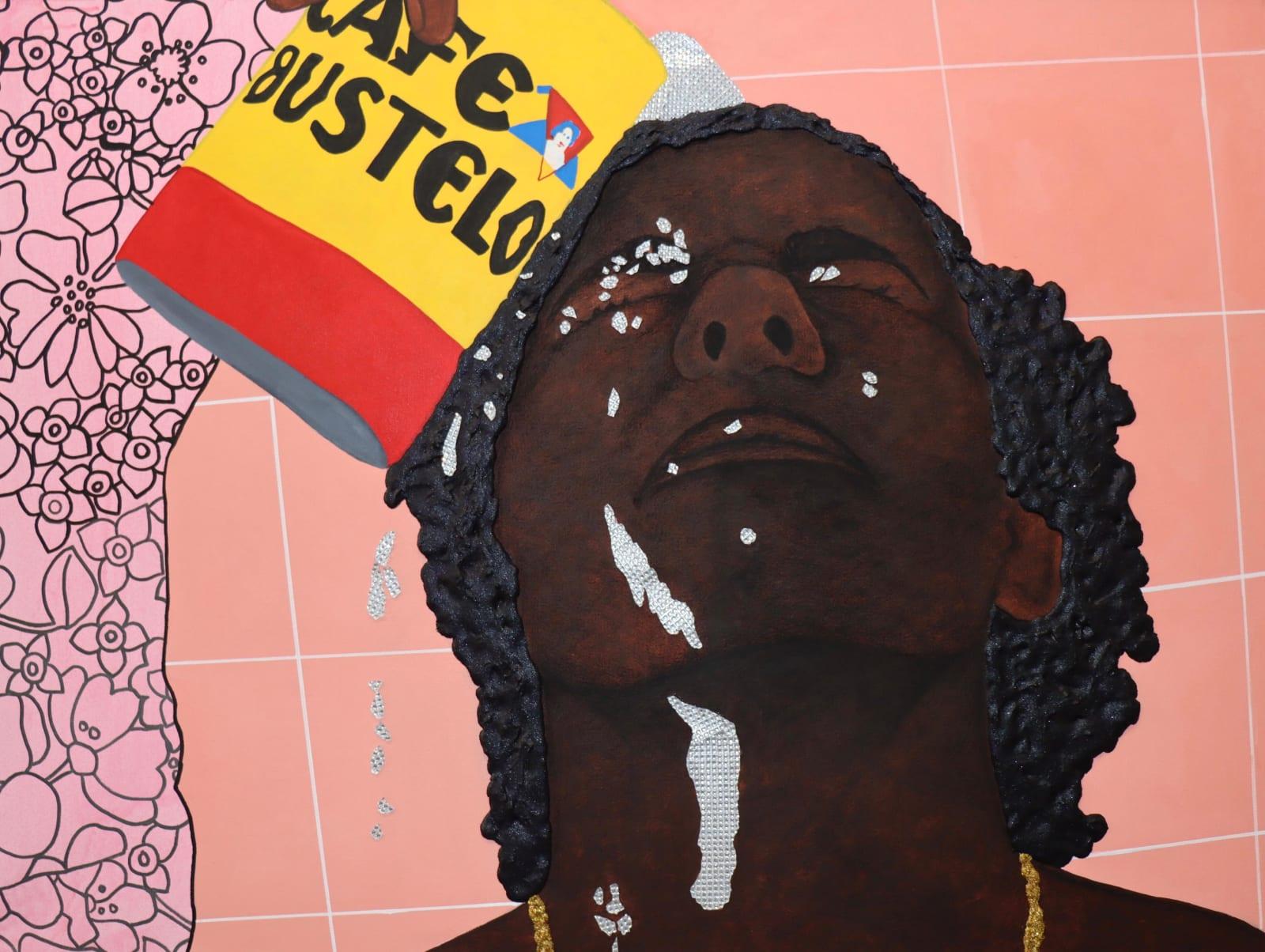Tiffany Alfonseca, Lata de Bustelo para bañarse (El mundo es mio), 2020