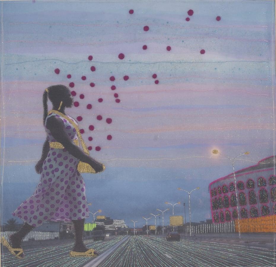 Joana Choumali, I never walk alone, Series Albahian, 2019