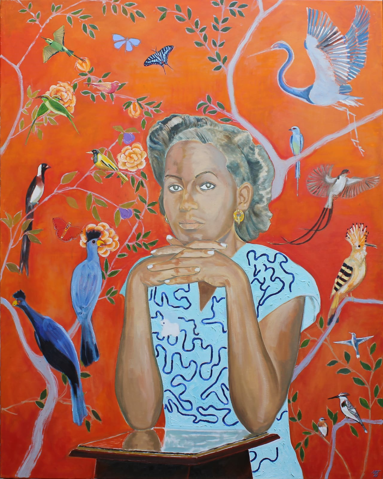 Arthur Timothy, Birds of paradise, 2021