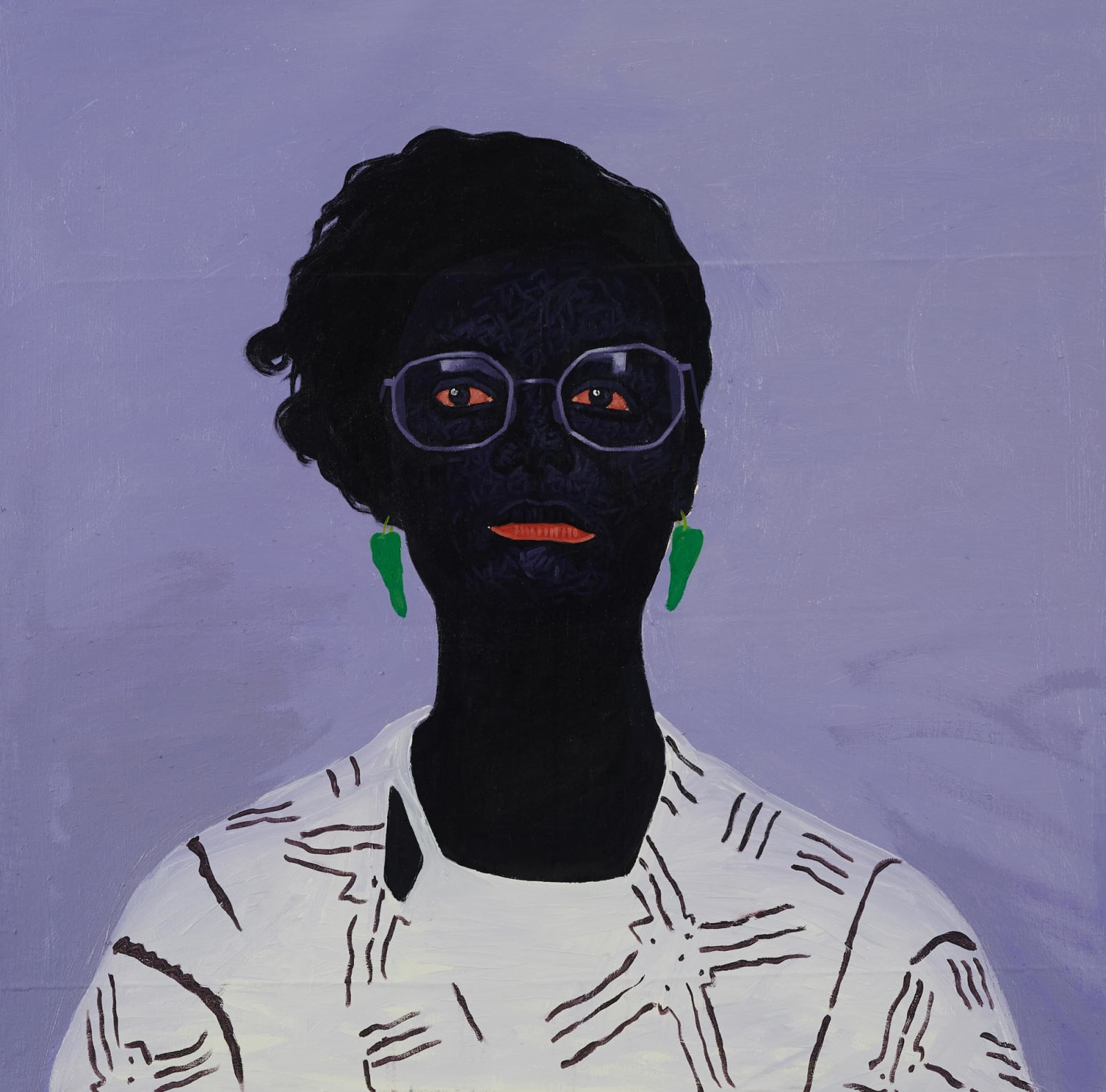 Kwesi Botchway, Pepper Earrings, 2020
