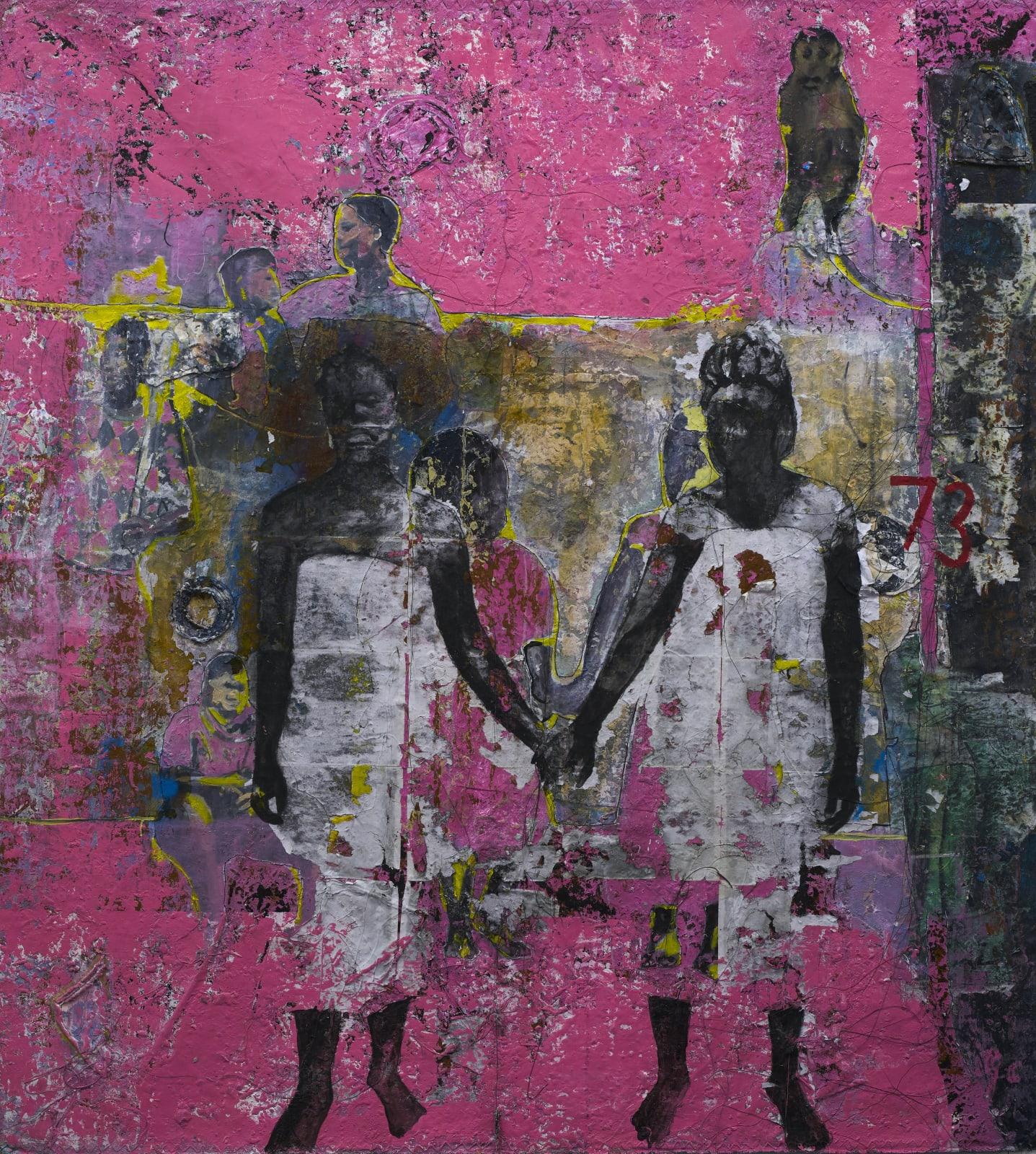 Kaloki Nyamai, Kukwatana Moko (Holding Hands), 2021
