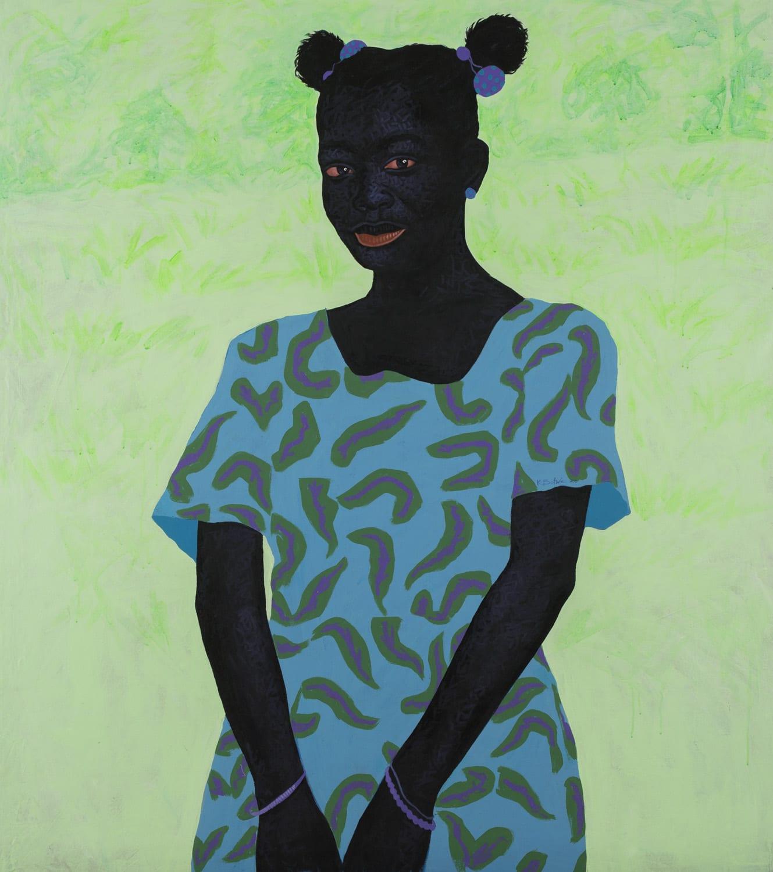 Kwesi Botchway, Purple Hair Tie, 2020