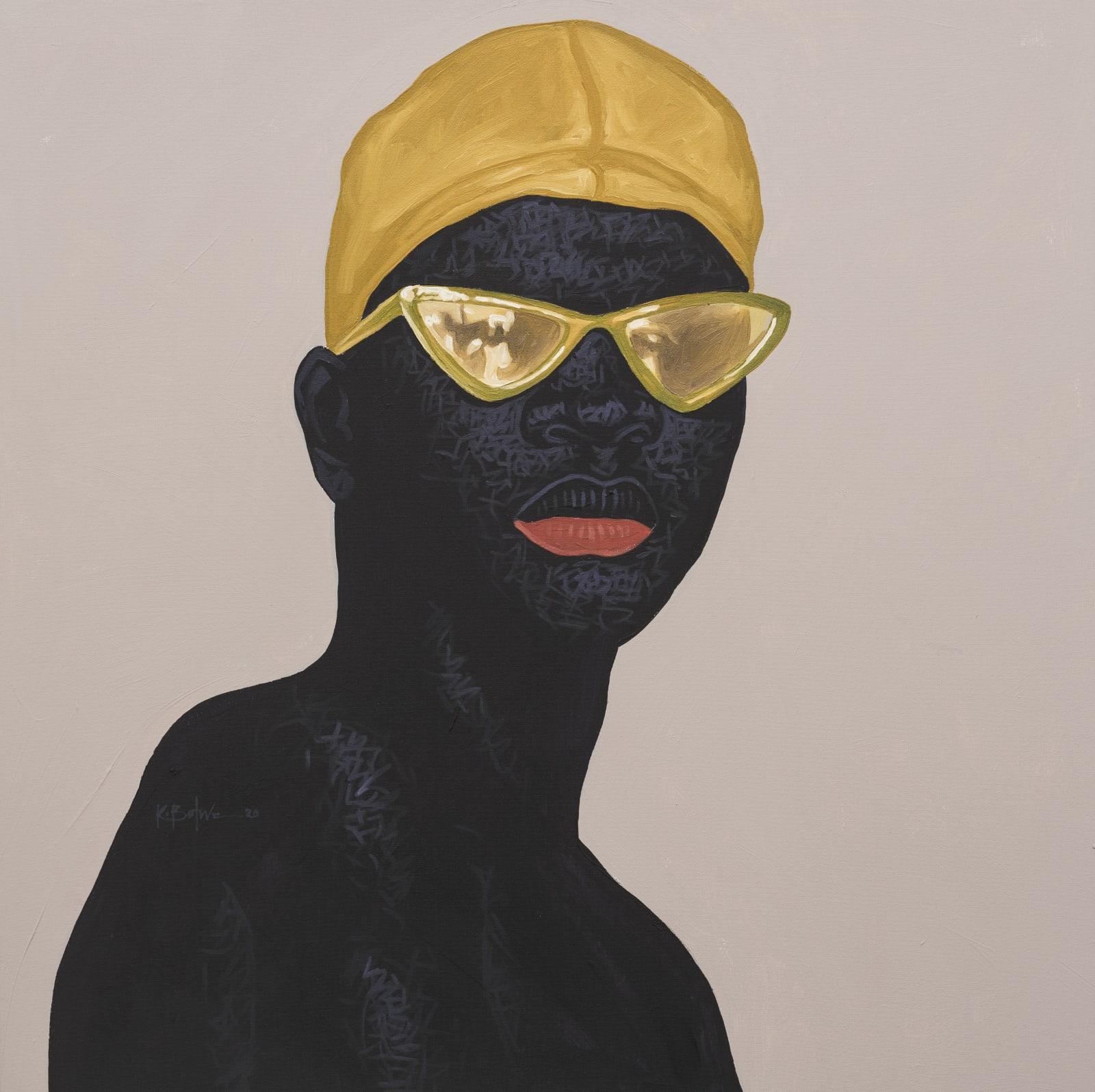 Kwesi Botchway, Ocre Sunglass, 2020