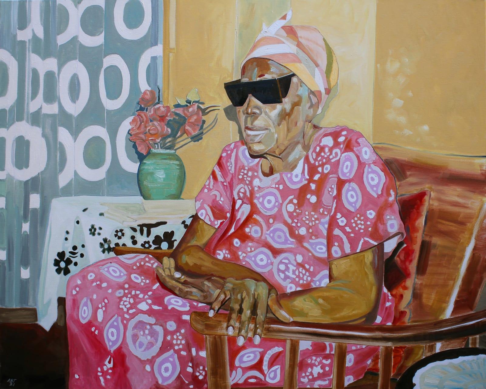 Arthur Timothy, Grandma's hands, 2021