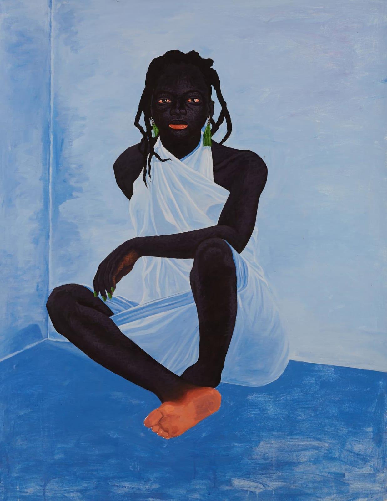 Kwesi Botchway, Blue Room, 2020