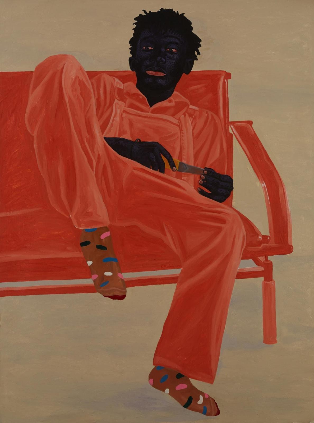Kwesi Botchway, The Apprentice Bench, 2020