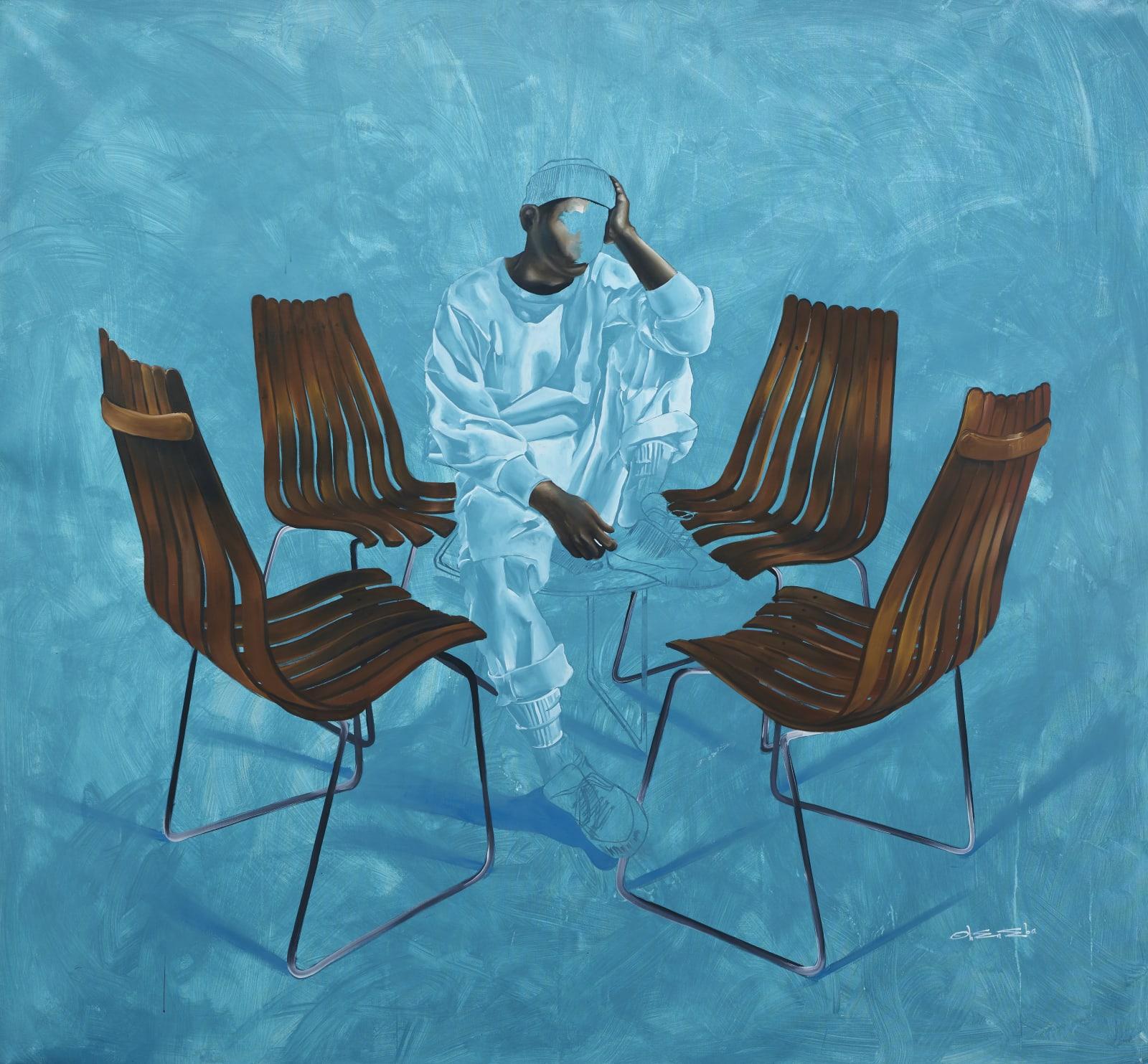 Joshua Oheneba-Takyi, Things Fall Apart, 2021