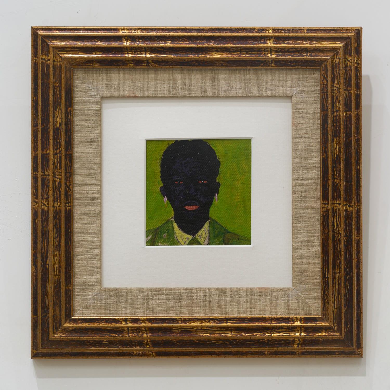 Kwesi Botchway, Green suit, 2020