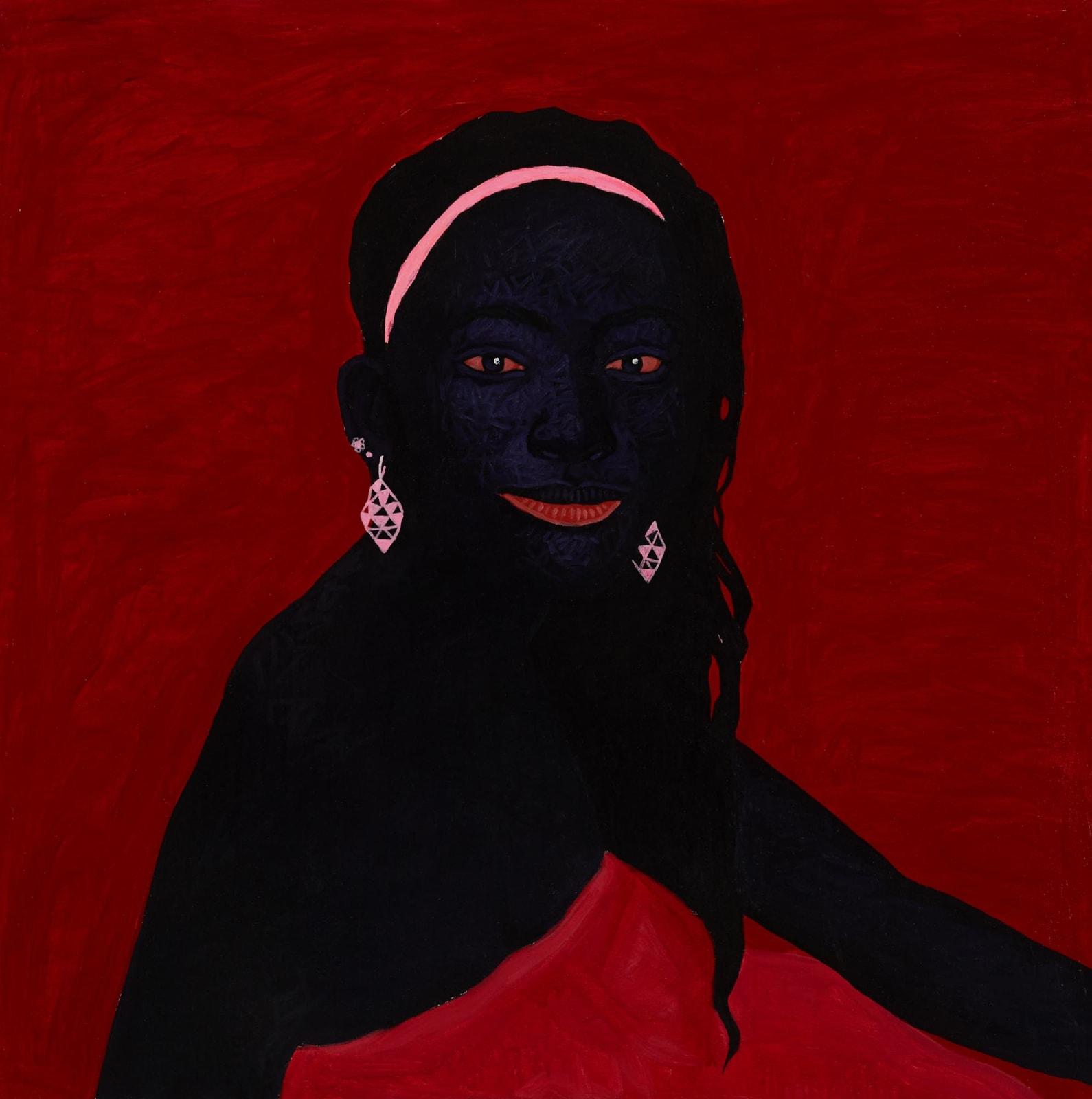 Kwesi Botchway, Pink Jewels II, 2020