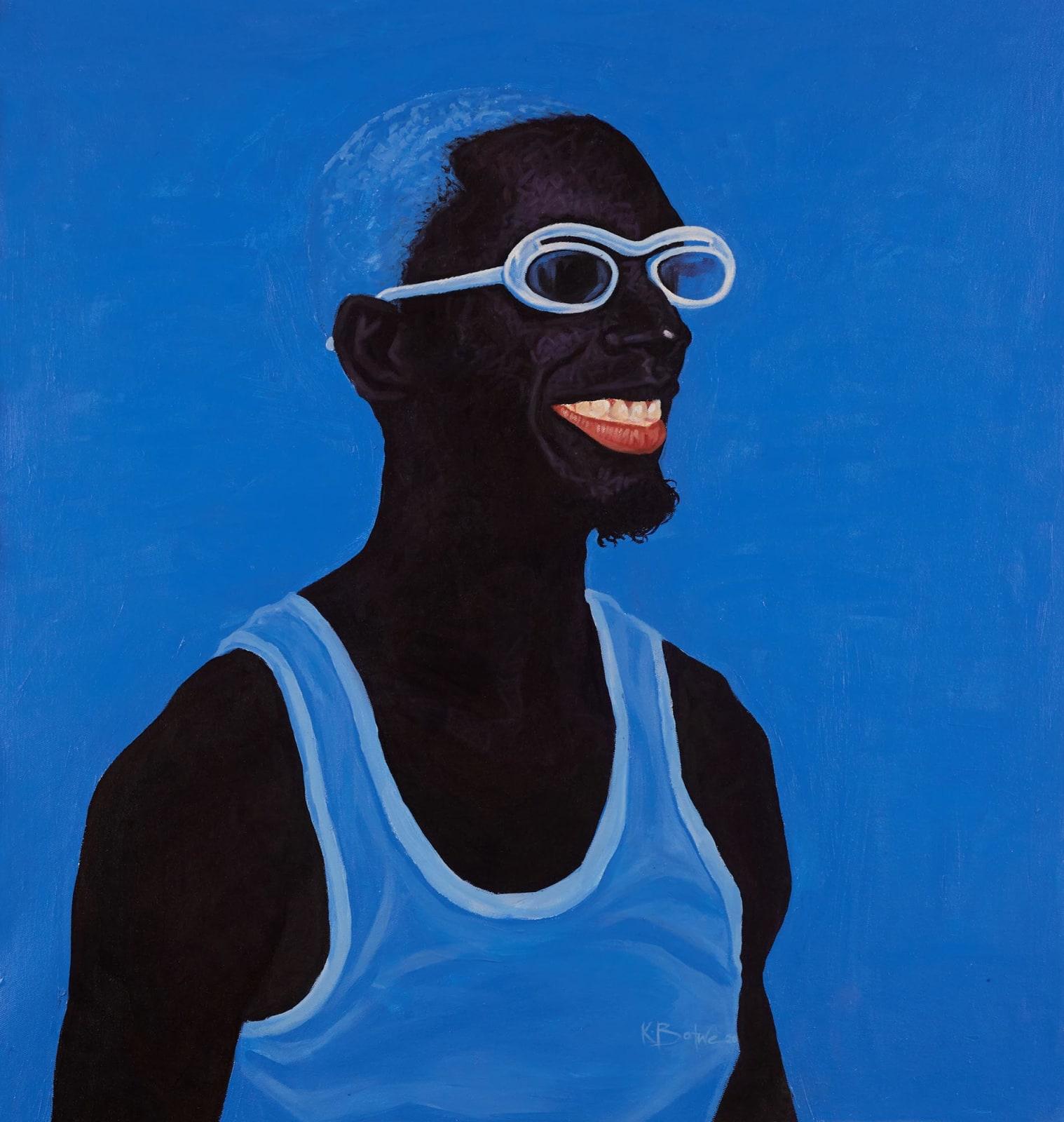 Kwesi Botchway, Blue Mood, 2020