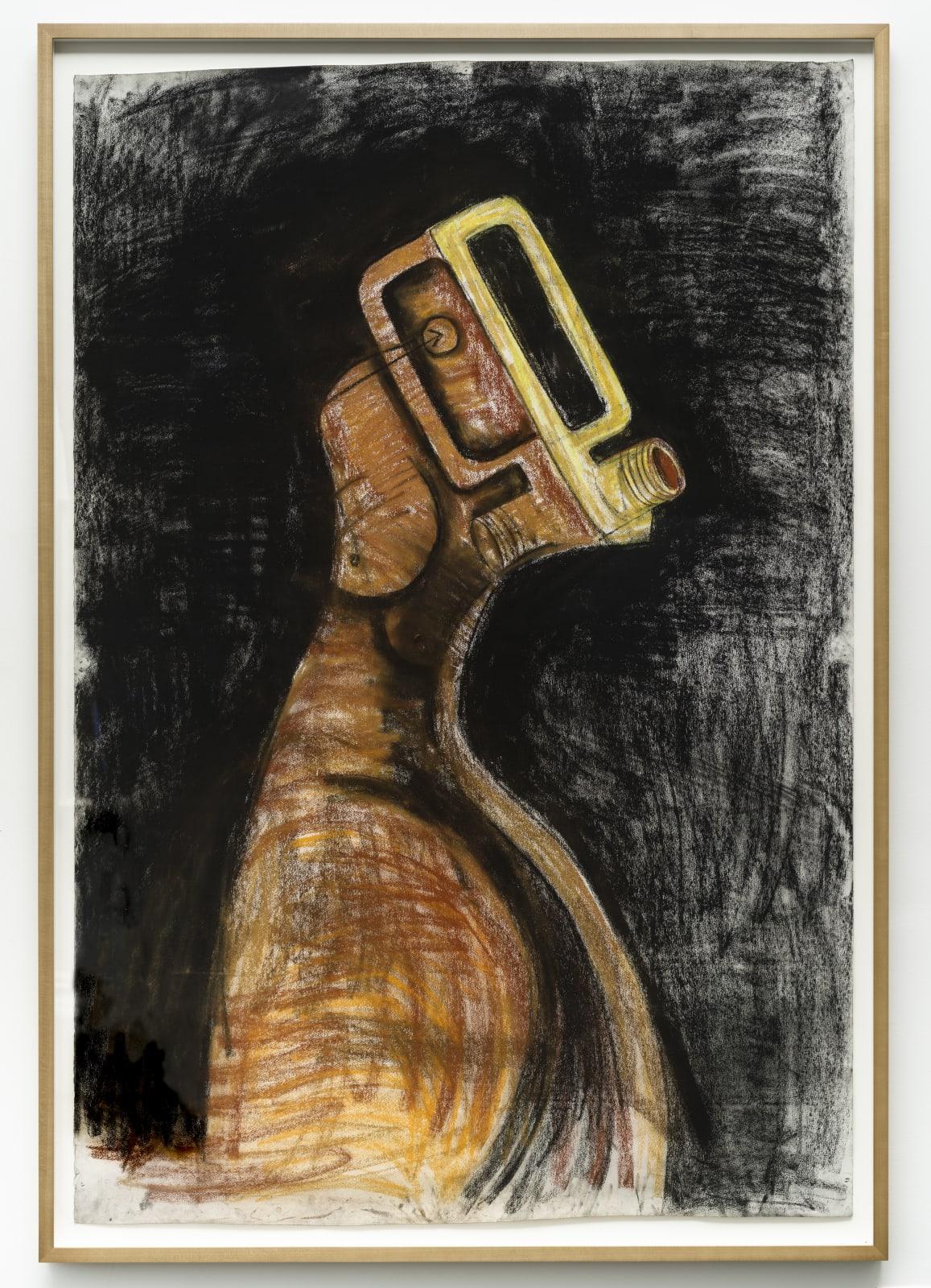 Serge Attukwei Clottey, Body and mask, 2018