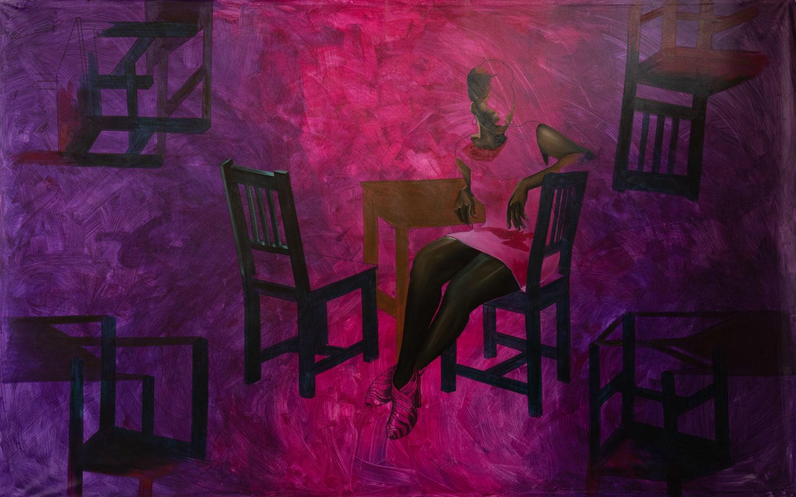 Joshua Oheneba-Takyi, A Seat At The Table, 2021