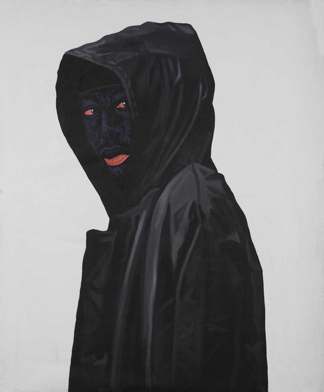Kwesi Botchway, Black Hoodie, 2020