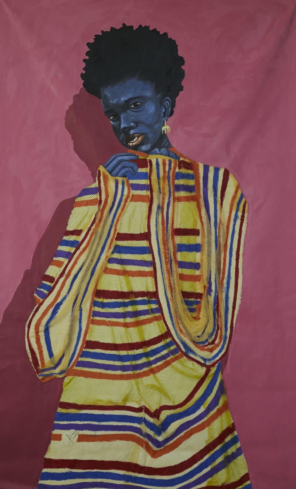 Adjei Tawiah, Adinkra Earring, 2021