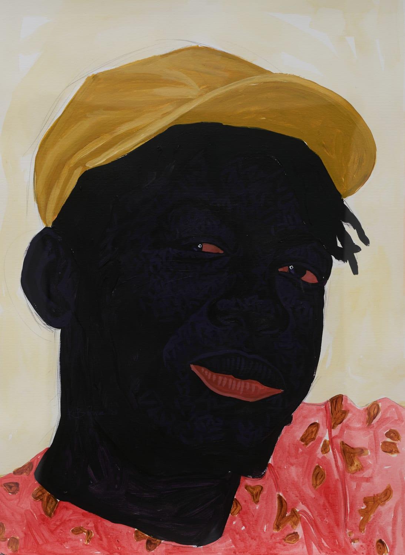 Kwesi Botchway, Winky Boy (Self Portrait), 2020