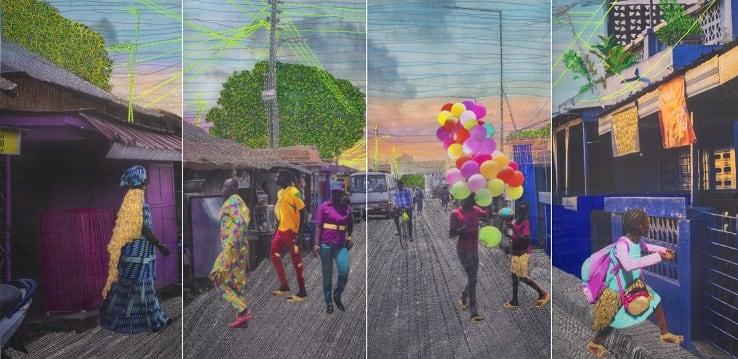 Joana Choumali, Relating To Imaginary Things, Series Albahian, 2019