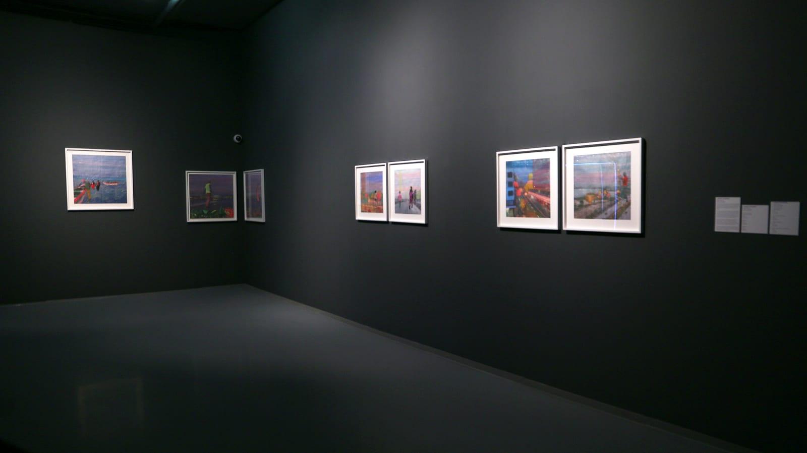 Joana Choumali, Installation Shot, Still Here Tomorrow to High Five You Yesterday, 2019
