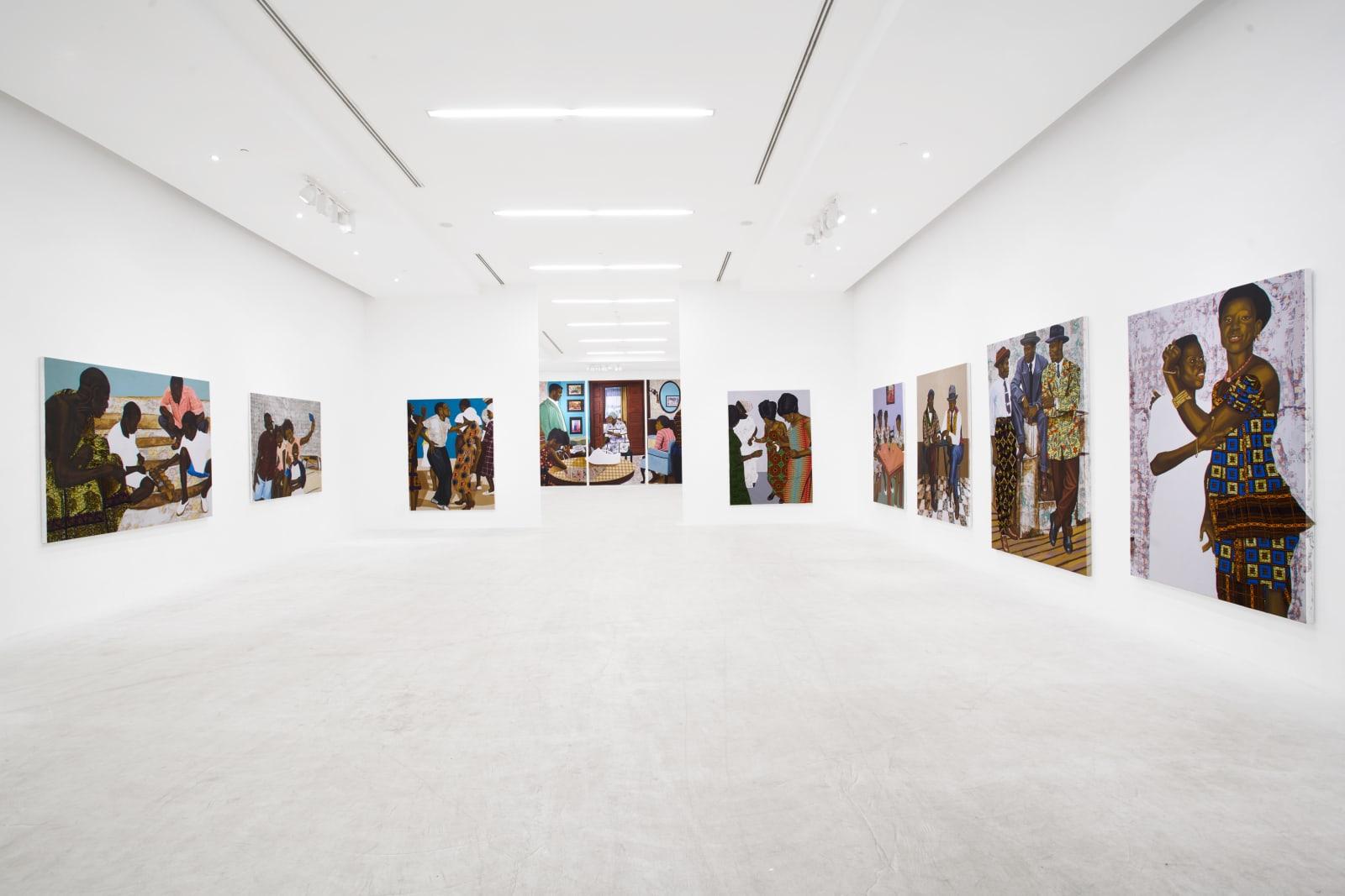 Cornelius Annor, Installation Shot, 2021